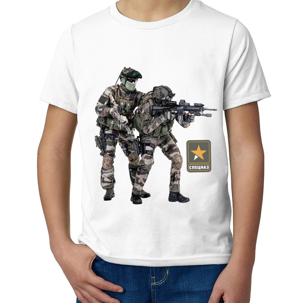 Детская футболка с принтом  Десантно-штурмовая группа