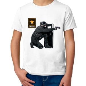 Детская футболка с принтом  ФСБ-Антитеррор