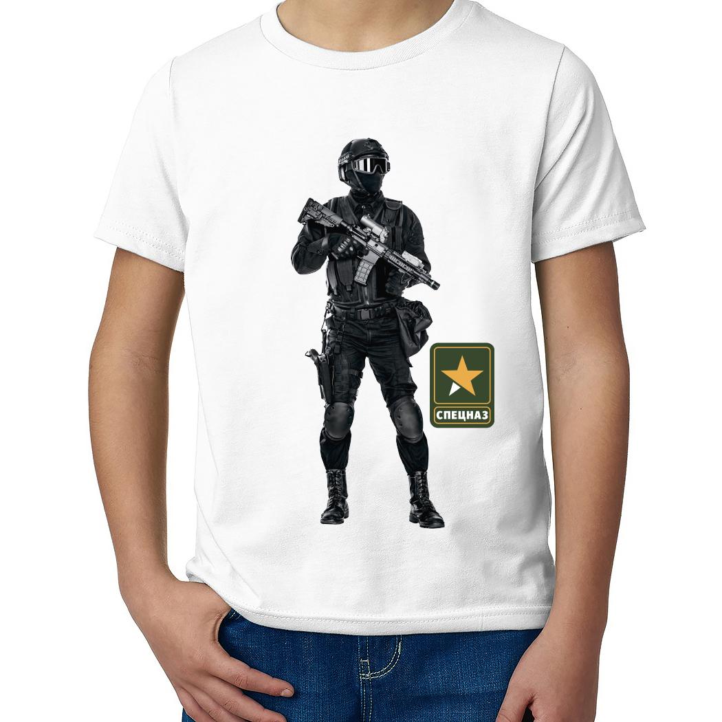 Детская футболка с принтом  Секретная служба