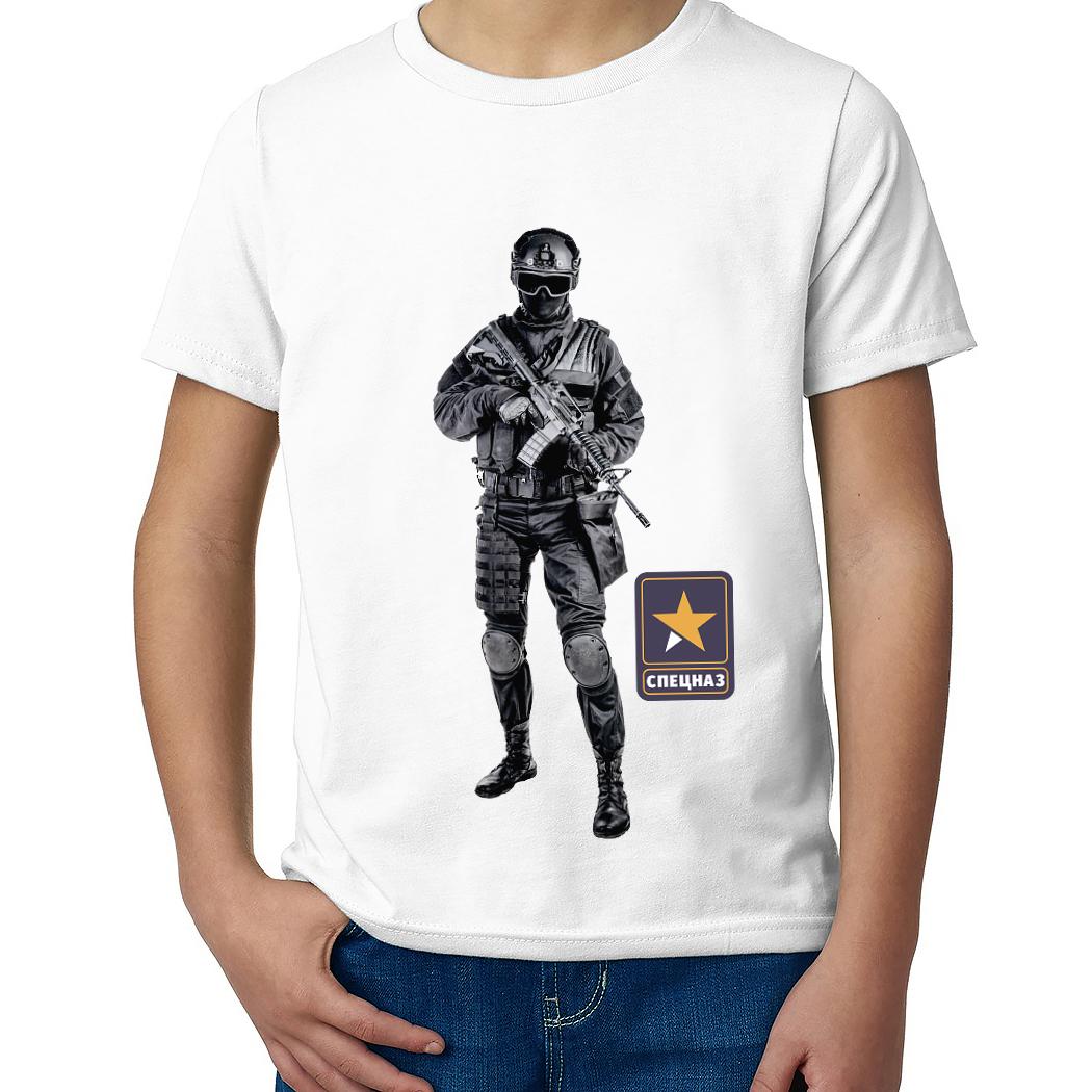 Детская футболка с принтом  Силы быстрого реагирования