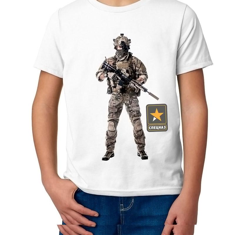 Детская футболка с принтом  Силы специальных операций