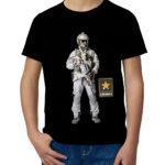 Детская футболка с принтом  Спецназ