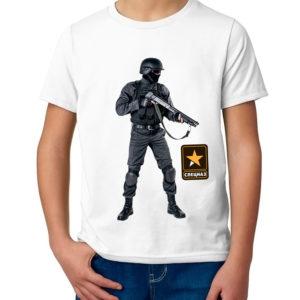 Детская футболка с принтом  Штурмовик