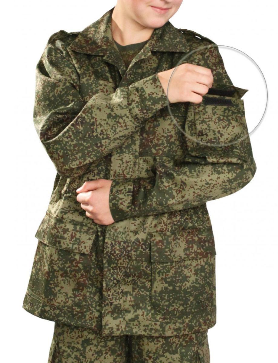 Детский камуфляжный костюм  Цифра