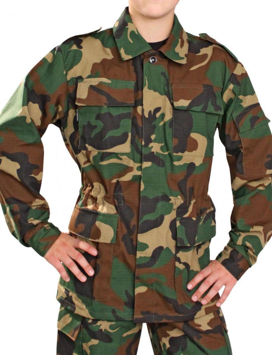 Детский камуфляжный костюм  НАТО