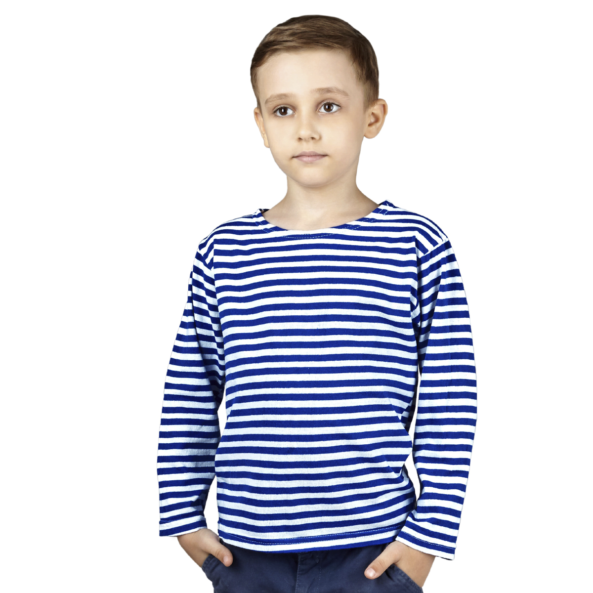 Детская тельняшка  Синяя полоса