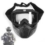 Защитная маска  с прозрачным стеклом