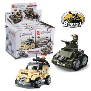 Конструктор  Военная техника (948 деталей)