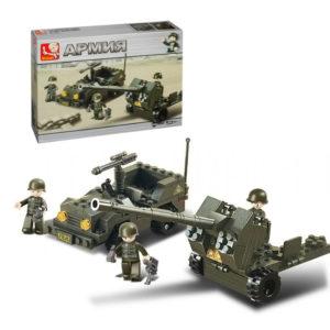 Военный конструктор  Артиллерия (138 деталей)