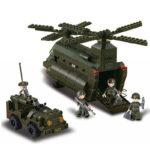 Военный конструктор  Авиадесант (370 деталей)