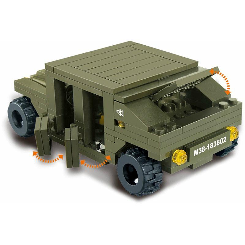 Военный конструктор  Автобат (379 деталей)
