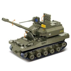 Военный конструктор  Боевой отряд (576 деталей)