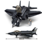 Военный конструктор  Бомбардировщик (252 детали)