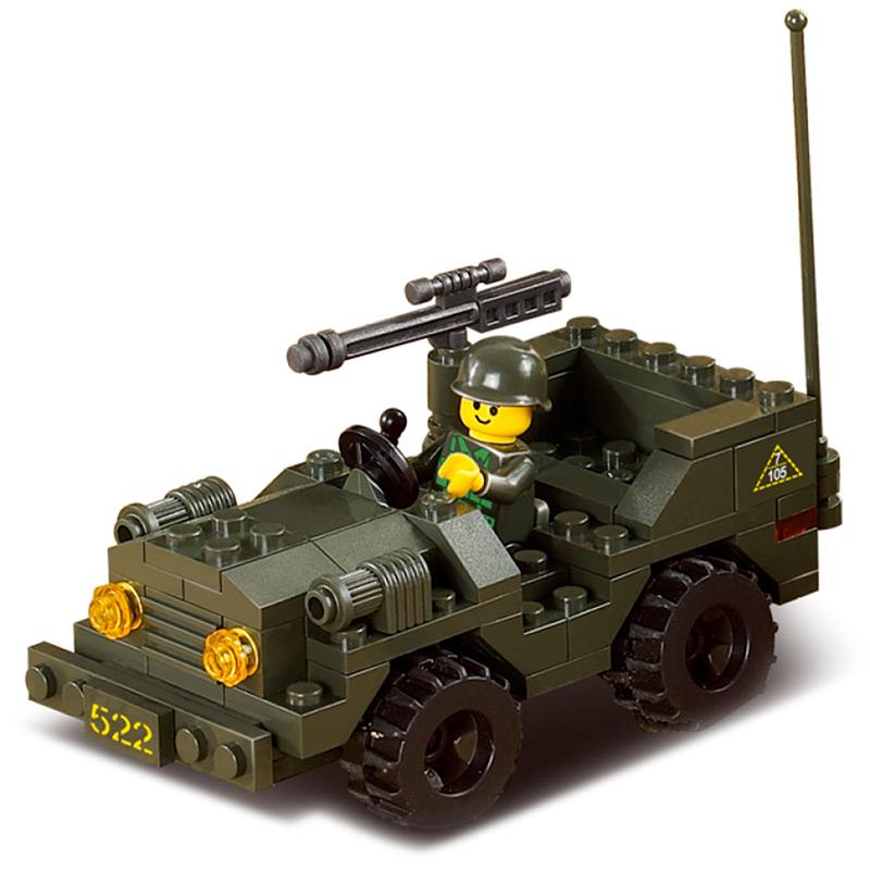 Военный конструктор  Дивизион (602 детали)