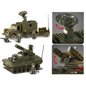 Военный конструктор  Отряд ПВО (511 деталей)