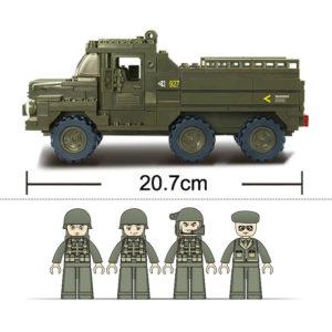 Военный конструктор  Грузовик Зубр (230 деталей)