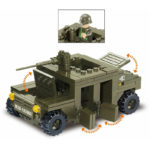 Военный конструктор  Хамер (175 деталей)