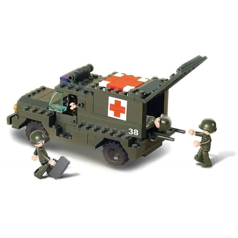 Военный конструктор  Медслужба (229 деталей)