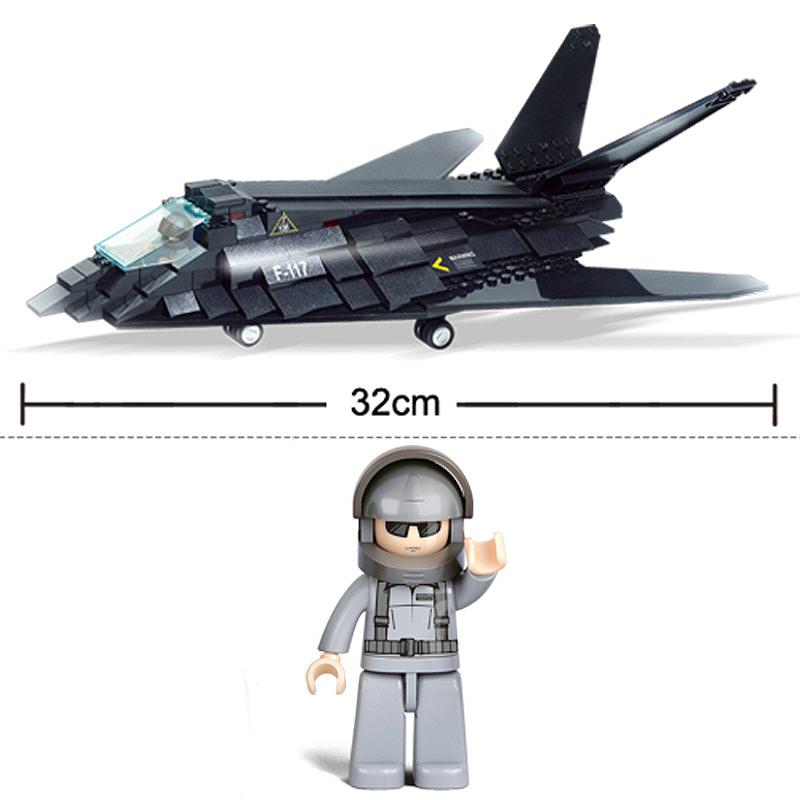 Военный конструктор  Стелс (209 деталей)