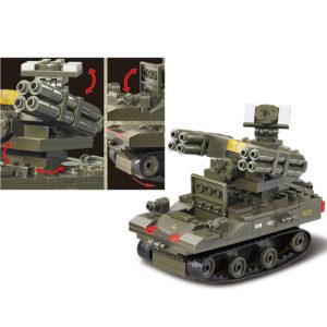 Военный конструктор  Зенитка Стрела (212 деталей)