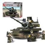 Военный конструктор  Танк Паладин (258 деталей)