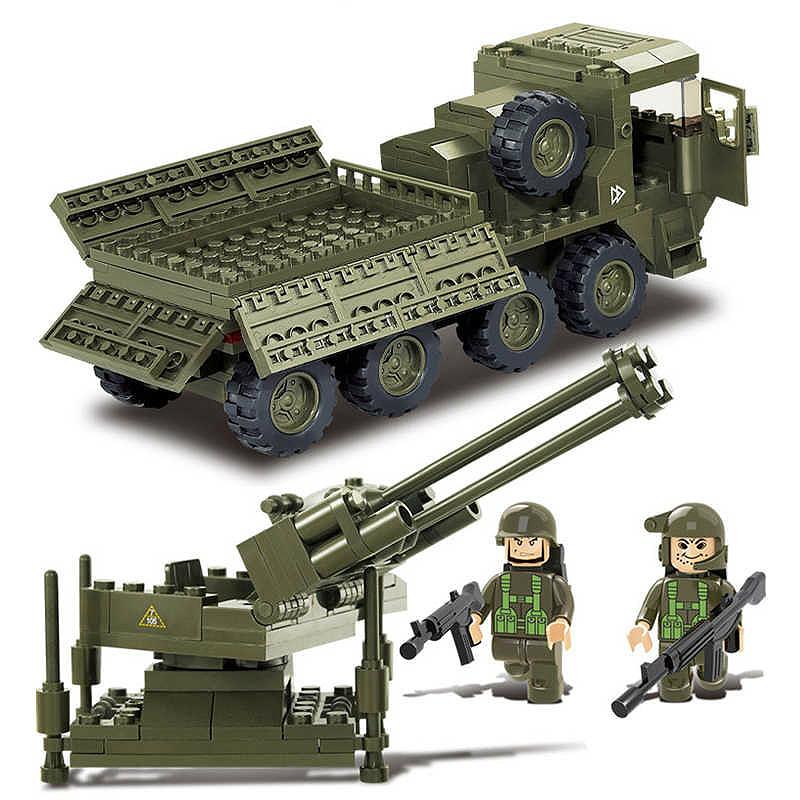 Военный конструктор  Зенитная установка (306 деталей)