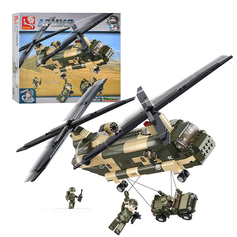 Военный конструктор  Вертолет CH-47 (520 деталей)