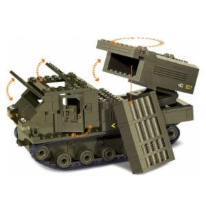 Военный конструктор  Установка Смерч (314 деталей)