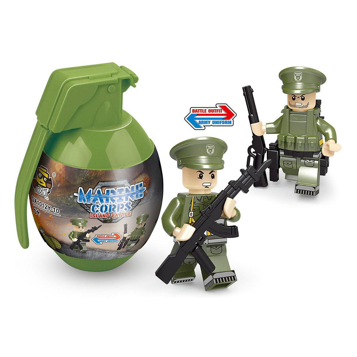 Конструктор в гранате  Военные полицейские